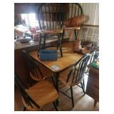 Chairs and desk