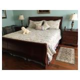 King-Sized Sleigh Bed
