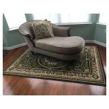 """Fainting Sofa, 68"""" L x 32"""" D x 32"""" H to back, 19"""" H to seat"""