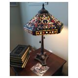 Gorgeous Tiffany-style table lamp