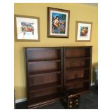 """Bookcases (4 available), each is 53"""" H x 34"""" W x 10"""" shelf depth"""