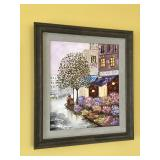 """Signed Original Painting by local artist """"Michael"""", frame measures 20.5"""" wide x 23"""" high"""
