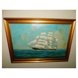 signed Frank Wilson entitled Nearing Home