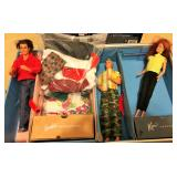 Vintage Barbies and clothes