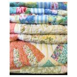 Vintage Hand Stitched Quilts
