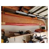 Hand made wooden foldable canoe very cool