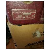 80-1 Webster wire recorder
