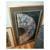 Indoor framed art piece (better picture coming soon)