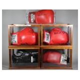 Various Hand Signed Boxing Gloves