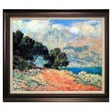 Beautiful landscape/seascape impressionistic painting