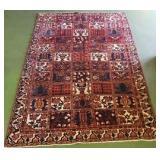 Handmade Wool Bakhtiari Rug 5