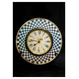 Roger Lascelles Painted Wood Clock