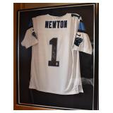 Autographed Cam Newton Carolina Panthers Jersey