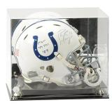 Peyton Manning Signed and Inscribed Colts Revolution Game Issued Helmet with Case & COA – Limited Ed