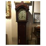 ANTIQUE MAHOGANY GRANDMOTHER CLOCK JOHN PICKETT