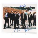 Autographed photo from the 1992 Quentin Tarantino movie Reservoir Dogs, featuring the main cast.