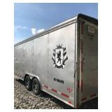 26 ft Enclosed Utility Trailer with Upgrades such as E-Track, Wheels, Skid Wheels, etc.