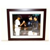 Rare Derek Jeter, Pettitte,Riveria Signed 16x20 Steiner Photo