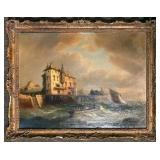 19th Century Marine / Seascape Oil Painting
