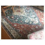 Brand new silk rug