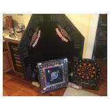 Harley Davidson Poker Board & Monopoly Game
