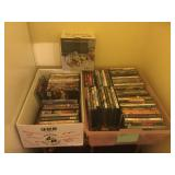 Tons of DVD's