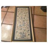 Antique Hand Sewn Oriental Silk