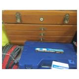 Harley Davidson Wooden Tool Box