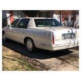 1999 Cadillac De Ville Sedan with only 88K miles!