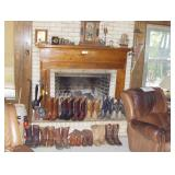 RAIN/SHINE, 70 YEARS OF COLLECTING, Rockwall, TX, Western Boots, Pin Ball Machine, Mid Century, MORE