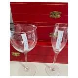 Cartier wine and champagne glasses