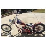 Custom build by Beverly Hills Chopper for Americas Top Model Adrienne Curry