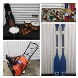 MORE LISTINGS COMING! A PRACTICAL MIX: FURNITURE, HOUSEHOLD DECOR, TOOLS & MORE - BIDDING ENDS 1/25