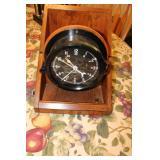 vintage army clock