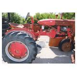 vintage international harvester tractor