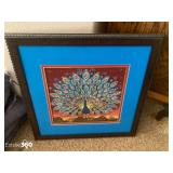 Framed Needlepoint Art