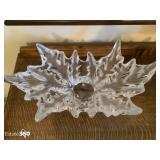 Lalique French Crystal Champs-Elysees Grand Bowl