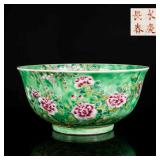 19th Antique Famille Rose Large Bowl
