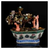 19th Antique Coral-like Bonsai