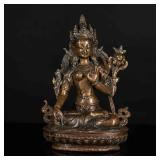 19th Tibetan Antique White Tara