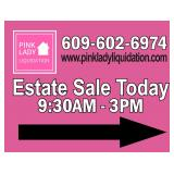Pink Lady Liquidation is in Colonia for a TWO Day Sale- Collectibles! Multi Generational