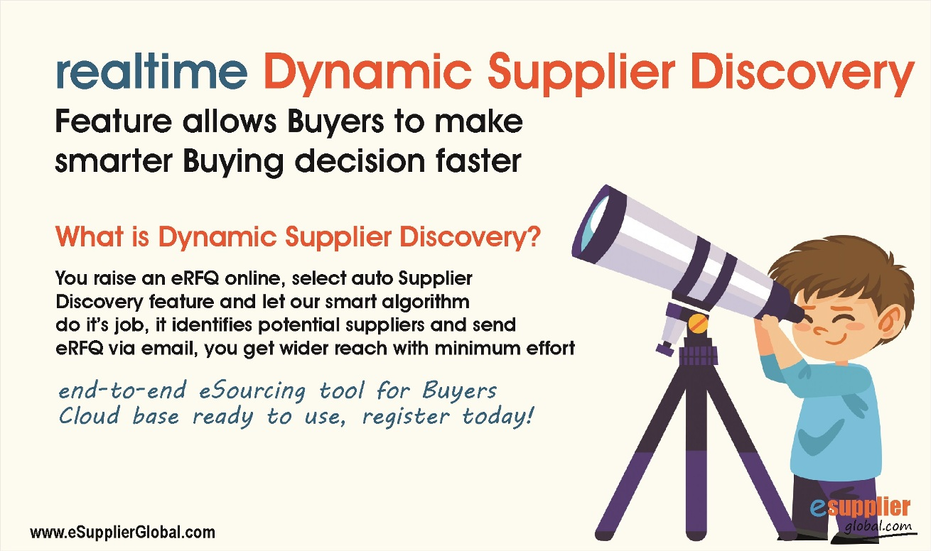 Dynamic Supplier Discovery Simplifies Sourcing Process