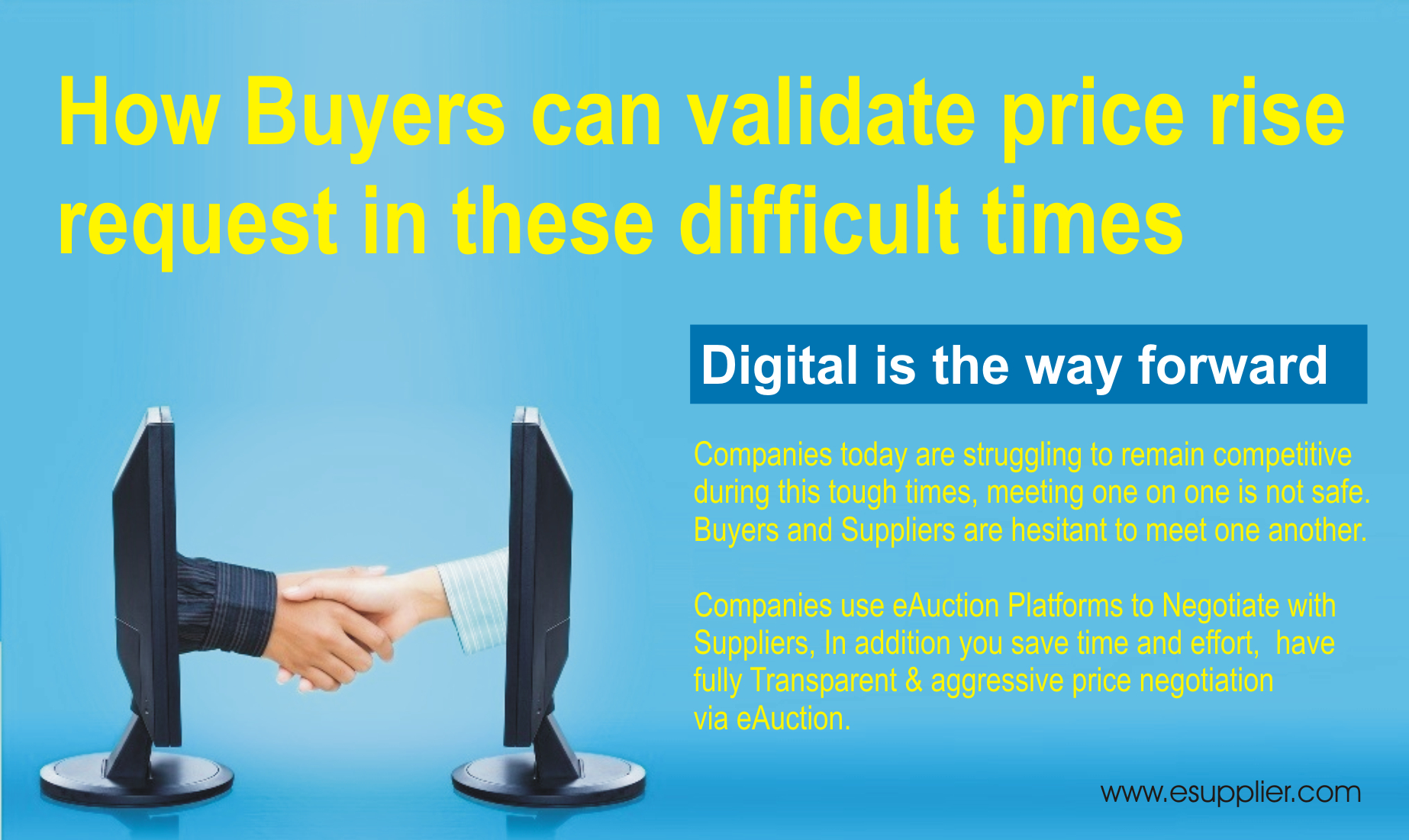 How Buyers can validate price rise in these difficult times