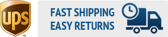 Fast Shipping, Easy Returns