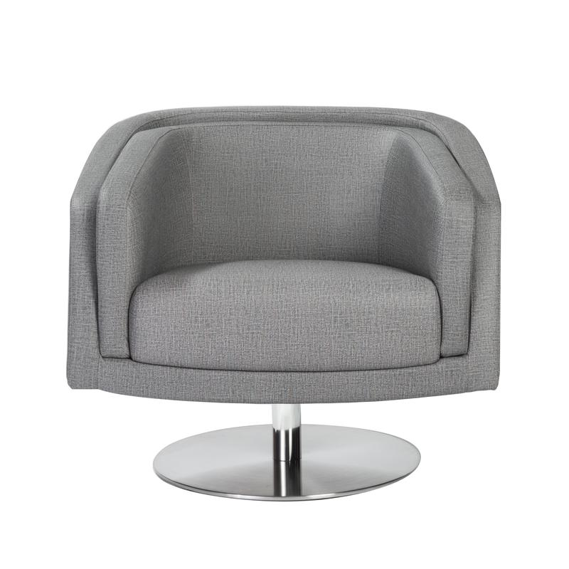Attractive Cassius Swivel Lounge Chair