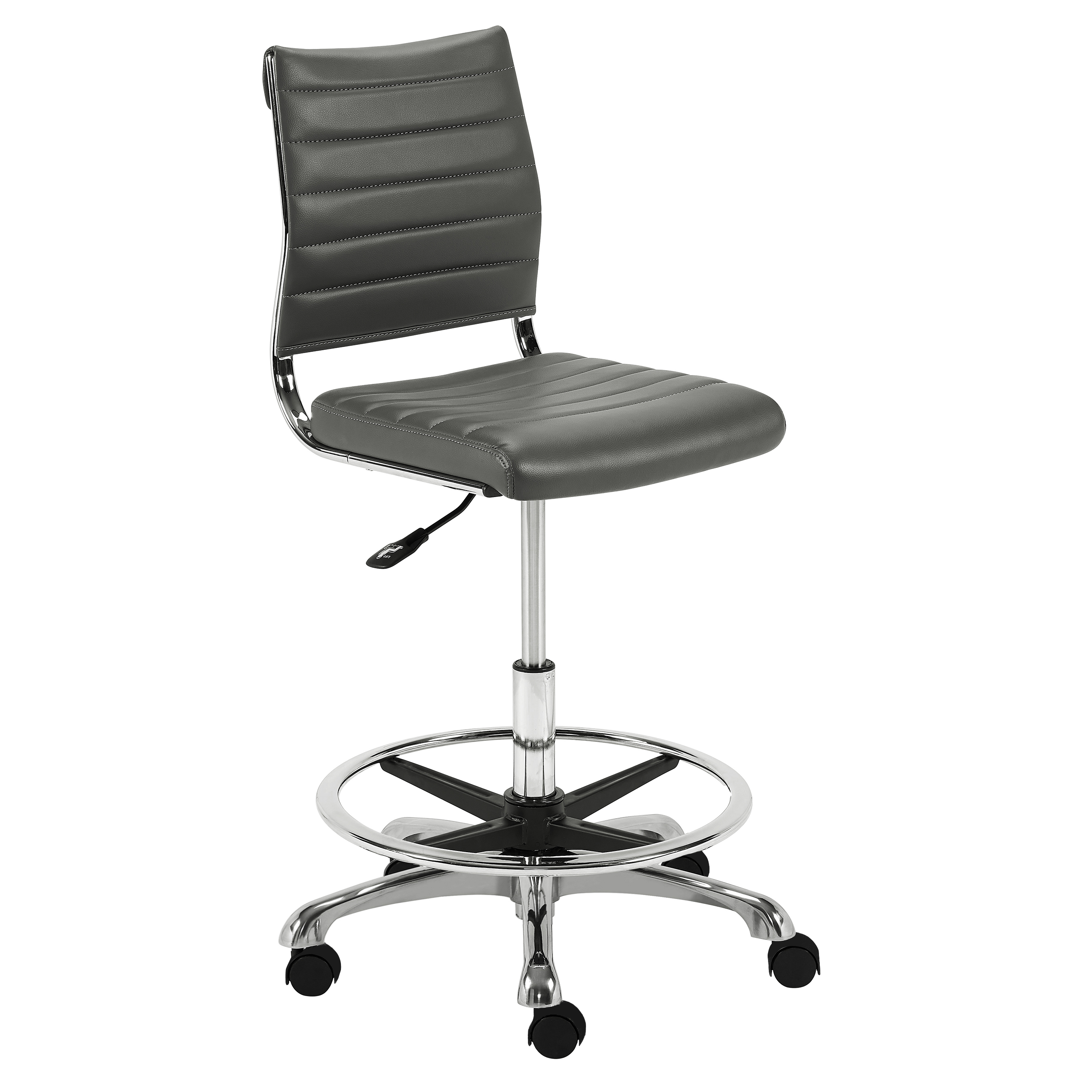 Tremendous Axel Adjustable Height Drafting Stool Euro Style Dailytribune Chair Design For Home Dailytribuneorg