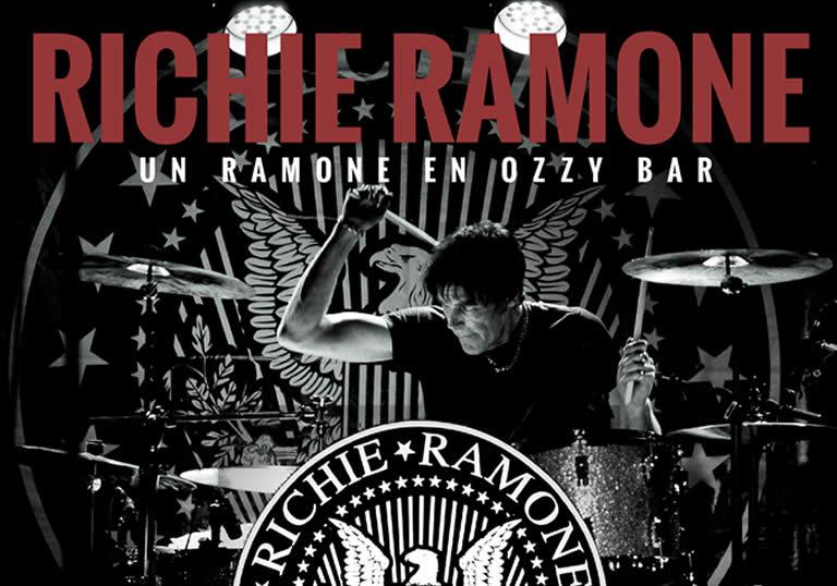 RICHIE RAMONE, UN RAMONE EN OZZY BAR