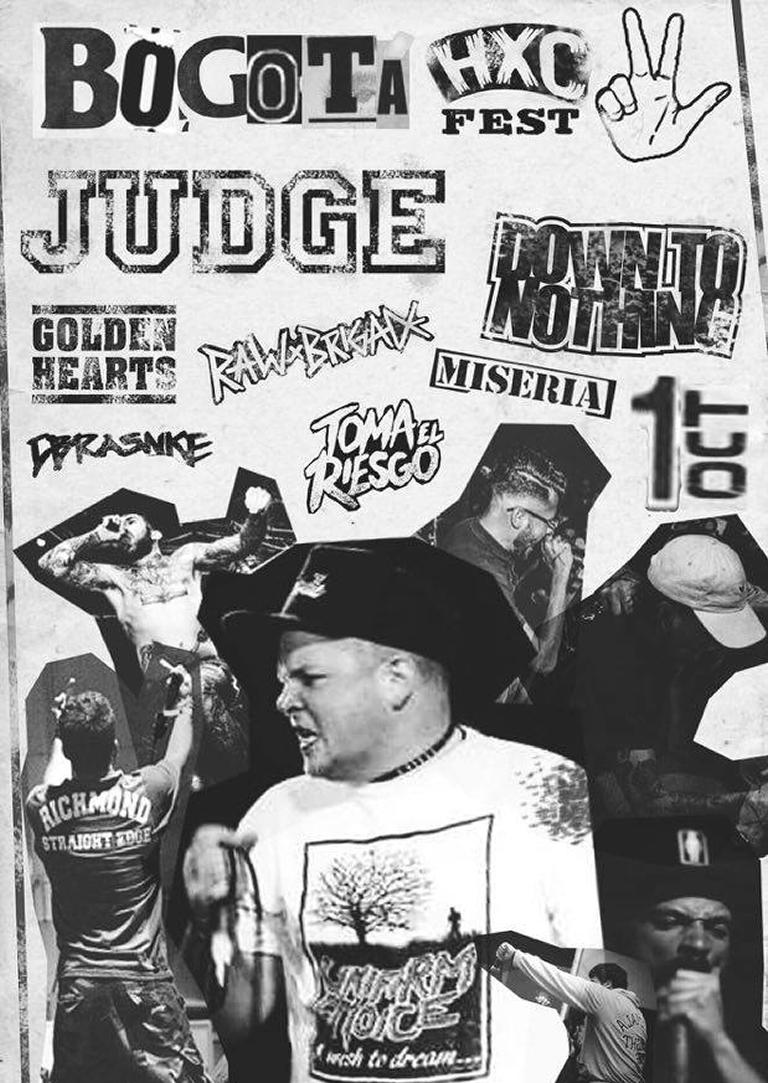 BOGOTA HARDCORE FEST 3 CON JUDGE NYHC