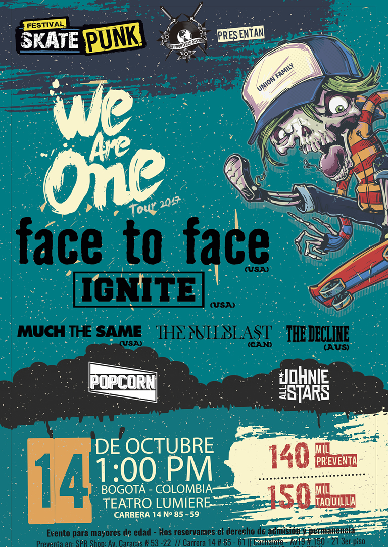 WE ARE ONE (SKATE PUNK FEST #14)