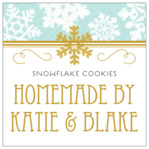 Snowflake Policy square labels